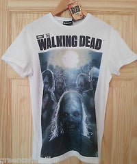 Walking Dead Primark T Shirt Zombie Mens White Sizes M-XL NEW Official Licensed - Click. Buy. Love. - 6