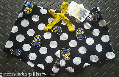 Official Minions Despicable Me PJ Pyjama Shorts Primark Sizes 6 -20 - Click. Buy. Love. - 1