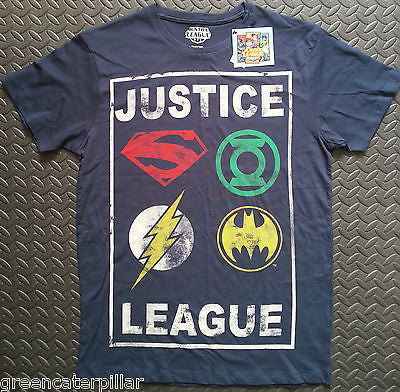 Justice League Primark T Shirt Mens Batman Superman DC Comics Size XS-XXL new - Click. Buy. Love. - 1
