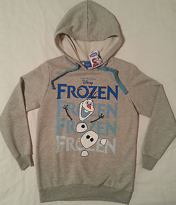 DISNEY FROZEN PRIMARK HOODIE OLAF SNOWMAN BNWT Sizes 6-20 NEW Official Licence - Click. Buy. Love.