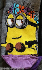 MINIONS PRIMARK DESPICABLE ME WOMEN'S SOCKS 3 PAIRS SIZES 4-8 EU37-42 Shoe Liner - Click. Buy. Love. - 4
