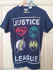 Justice League Primark T Shirt Mens Batman Superman DC Comics Size XS-XXL new - Click. Buy. Love. - 4