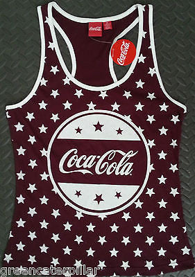 Primark Coca Cola Coke PJ Pyjama T-Shirt Vest OFFICIAL Size 10-20 NEW VEST ONLY - Click. Buy. Love. - 1