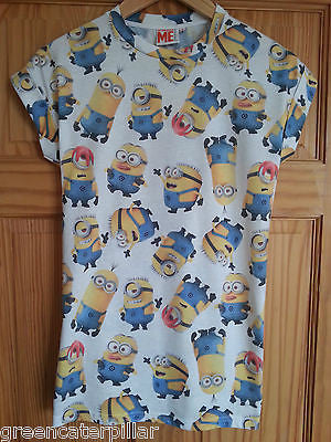 Primark Ladies MINIONS MULTI STARFISH T Shirt Tee Top UK sizes 8 - 12 - Click. Buy. Love.
