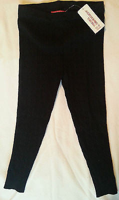 Primark Black Knitted Style Girls Leggings BNWT - Click. Buy. Love.