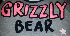 PRIMARK Grizzly Bear PJ Vest & Short Set PYJAMAS Sizes 6 - 20 NEW - Click. Buy. Love. - 2