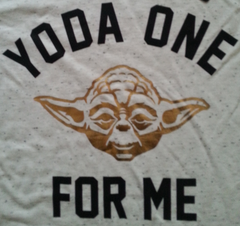 Primark Star Wars T Shirt 'Yoda one for me' Womens Ladies UK 6-20 NEW - Click. Buy. Love. - 2