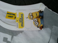 Primark Minions T-Shirt PJ Style Womens Top Sizes 6-20 Official Licensed - Click. Buy. Love. - 3