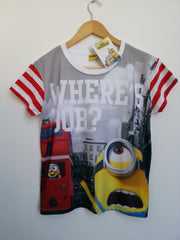 Primark Minions T-Shirt PJ Style Womens Top Sizes 6-20 Official Licensed - Click. Buy. Love. - 5