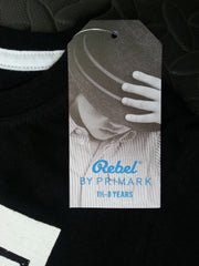 Primark Boys T-Shirt 'Back By Popular Demand' Black Sizes 1-8 years - Click. Buy. Love. - 3