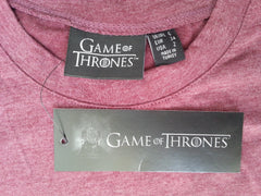 Primark Game Of Thrones T Shirt GoT burgundy Womens Ladies UK 6-20 NEW - Click. Buy. Love. - 6