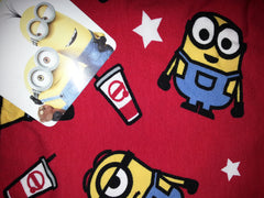 PRIMARK Minions Popcorn PJ Leggings RED Bottoms Sizes 6 - 20 NEW - Click. Buy. Love. - 2