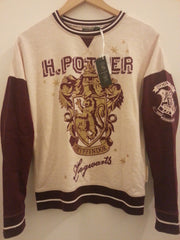 PRIMARK Harry Potter PJ sweater top gryffindor crest PYJAMAS Sizes 6 - 20 - Click. Buy. Love. - 2