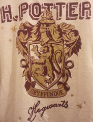 PRIMARK Harry Potter PJ sweater top gryffindor crest PYJAMAS Sizes 6 - 20 - Click. Buy. Love. - 3