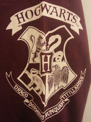 PRIMARK Harry Potter PJ sweater top gryffindor crest PYJAMAS Sizes 6 - 20 - Click. Buy. Love. - 4