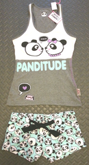 PRIMARK PANDA PETE PJ sweater vest top PYJAMAS Sizes 6 - 20 - Click. Buy. Love. - 2