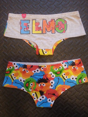 Primark Knickers MINIONS, HARRY POTTER, BATMAN, ELMO, GB, Ladies Briefs - Click. Buy. Love. - 8