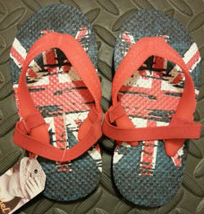 Primark Union Jack Flip Flops Boy's UK Flag Sandals Thongs kids UK Sizes 6 - 11 - Click. Buy. Love. - 3