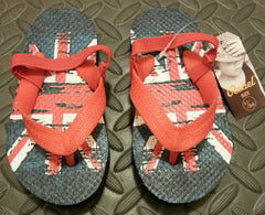 Primark Union Jack Flip Flops Boy's UK Flag Sandals Thongs kids UK Sizes 6 - 11 - Click. Buy. Love. - 2