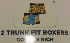 Primark Minions Boy's Pants Despicable Me Trunk Boxers 2 Pack Size 2 - 12 Years - Click. Buy. Love. - 3