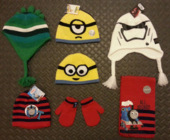 PRIMARKS Children's Hats Minions Star Wars Thomas Tank Engine Dinosaur Kids - Click. Buy. Love. - 1