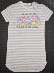 Seven Dwarfs PRIMARK NIGHTIE T Shirt DISNEY Snow White PJ Sizes 4 - 20 NEW