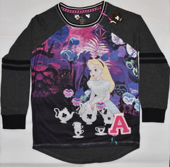 PRIMARK Alice In Wonderland PJ T Shirt Disney PYJAMAS UK Sizes  6 to 8
