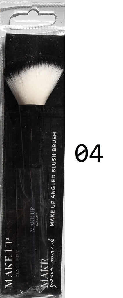 Make Up Gallery Brushes NEW Foundation Brush Double End Angled Eye Powder Blush - Click. Buy. Love. - 5