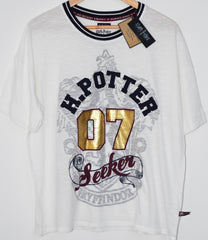HARRY POTTER PJ T Shirt SEEKER PRIMARK Gryffindor UK size 14 - 16