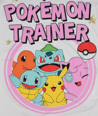 PRIMARK Pokemon Trainer T Shirt PJ Pikachu Bulbasaur Womens PYJAMAS UK Size 4-20