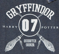 Harry Potter Primark T Shirt Gryffindor Quidditch Womens Ladies UK Size 18