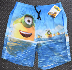 PRIMARK MINIONS Swim Shorts Beach Scene Pockets Front And Back - Click. Buy. Love. - 2