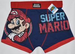 Super Mario Mens HIPSTER Boxer Underwear Pants OFFICIAL NEW Sizes S - XXL