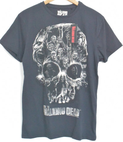 The Walking Dead T Shirt Men's Skull Zombie Black Official NEW UK Sizes M - XL - Click. Buy. Love. - 1
