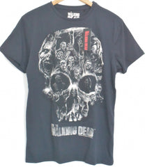 The Walking Dead T Shirt Men's Skull Zombie Black Official NEW UK Sizes M - XL - Click. Buy. Love. - 2