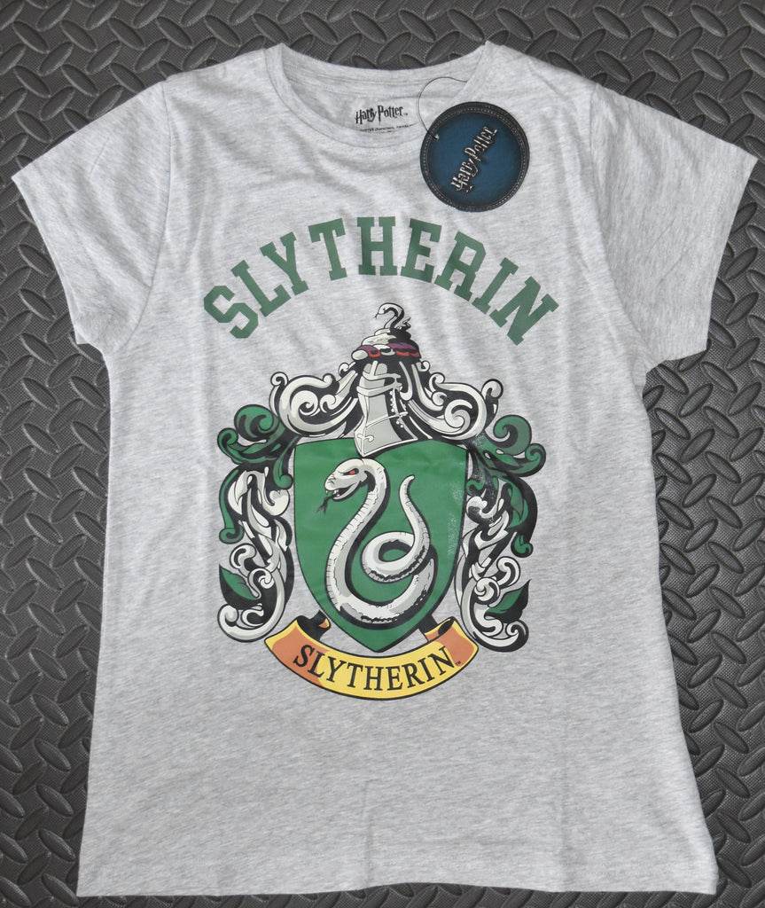 Harry Potter Slytherin T Shirt Primark Womens Ladies UK Size 6-20