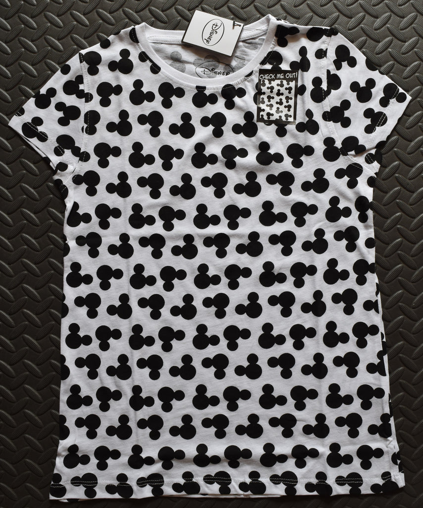 Primark Mickey Mouse T Shirt Disney Womens Ladies Front And Back Print - Click. Buy. Love. - 1