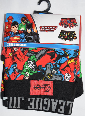JUSTICE LEAGUE Primark Pants BATMAN DC COMICS Mens 2 PACK UNDERWEAR Size M - XXL