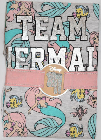 LITTLE MERMAID PJ DISNEY SET PRIMARK TEAM Sizes 4 to 8
