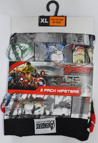 Marvel Avengers Primark Pants Mens 2 Pack Underwear UK Sizes XXL
