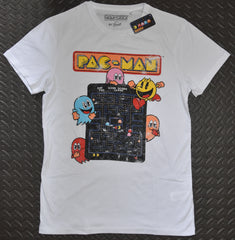 PACMAN Primark MENS T SHIRT Retro NEW UK Sizes S - XXL