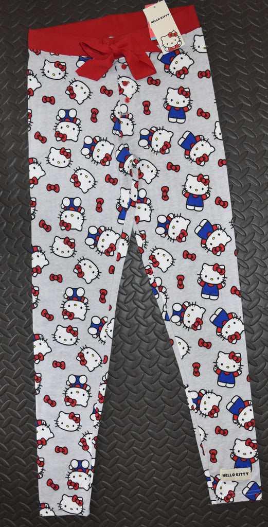 HELLO KITTY PRIMARK PJ BOTTOMS Womens Ladies Leggings UK Sizes 4 - 20