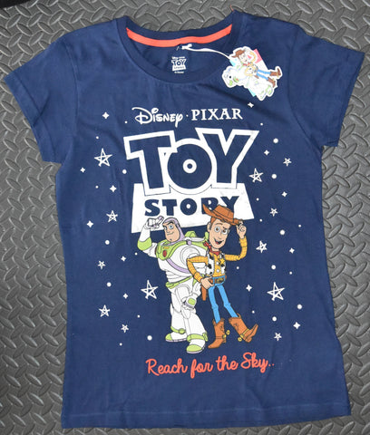 TOY STORY PRIMARK T-Shirt REACH FOR THE SKY DISNEY PIXAR Womens Ladies UK Sizes 4 - 24