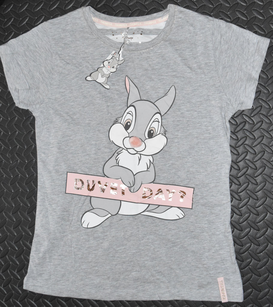 PRIMARK Thumper PJ T-Shirt Disney Duvet Day Sizes 6 to 20