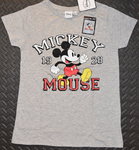 Primark Mickey Mouse T Shirt Classic Disney Womens Ladies 1928 UK Sizes 4-20 NEW