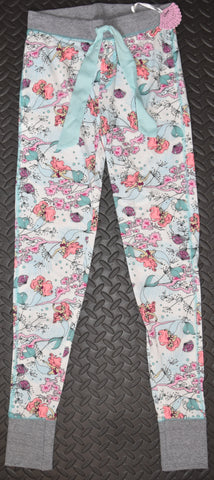 LITTLE MERMAID PJ BOTTOMS Primark DISNEY Ladies Womens Leggings Sizes 6 to 20