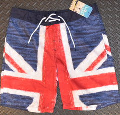 Mens British Flag Union Jack Swim Shorts PRIMARK size XS only