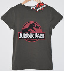 Primark Jurassic Park T Shirt Classic Womens Ladies UK Size 4