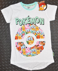 Pokemon T Shirt PRIMARK Pikachu Bulbasaur Womens UK Size 4 to 16