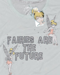 TINKERBELL T SHIRT PRIMARK DISNEY FAIRIES ARE THE FUTURE Womens Ladies UK Sizes 4 - 20